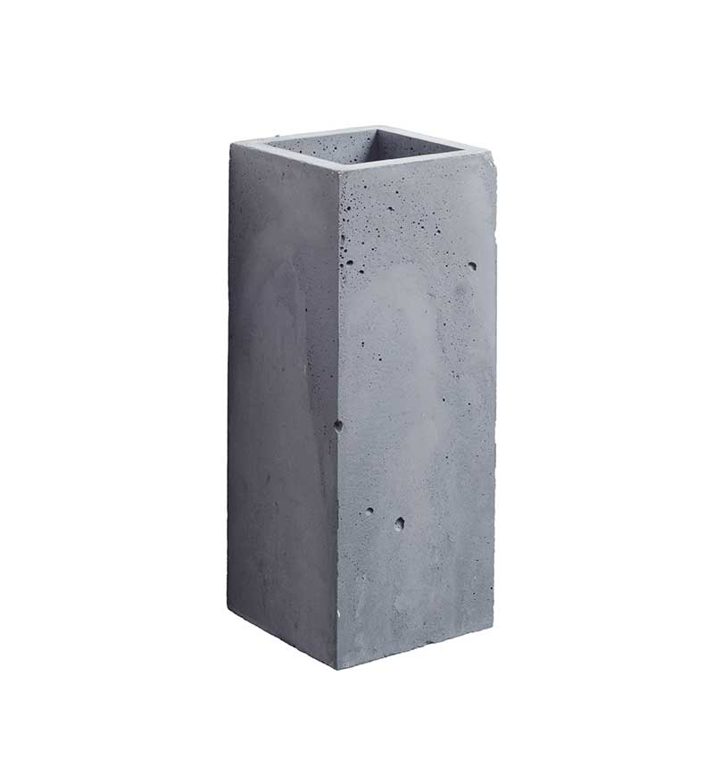 Concrete Lamp Orto in Anthracite Finish