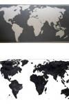 Top: white on black. Bottom: black on