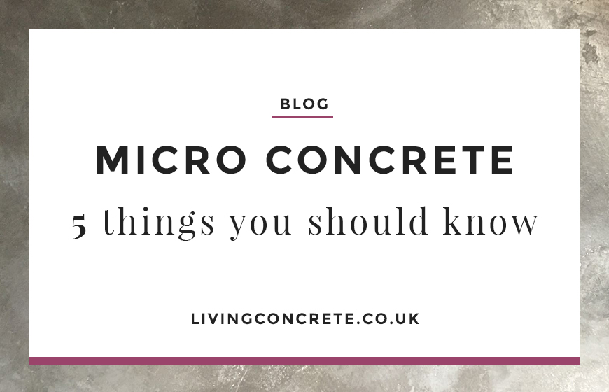Micro Concrete Featured Blog Image