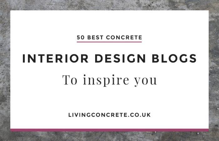 50 best concrete interior design blogs to inspire you - Best Interior Blogs