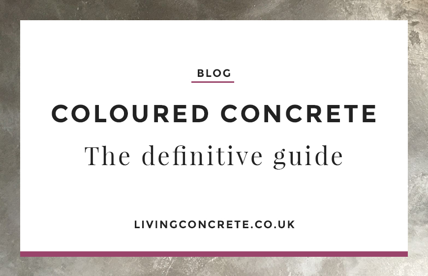 Coloured Concrete the Definitive Guide