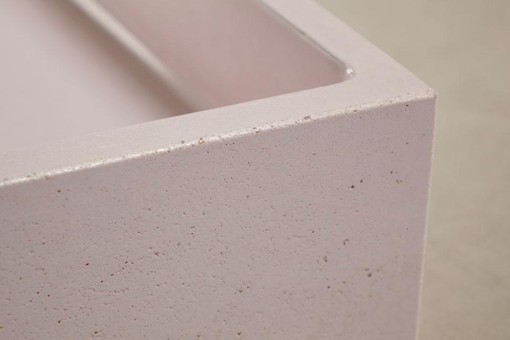 Concrete-washbasin