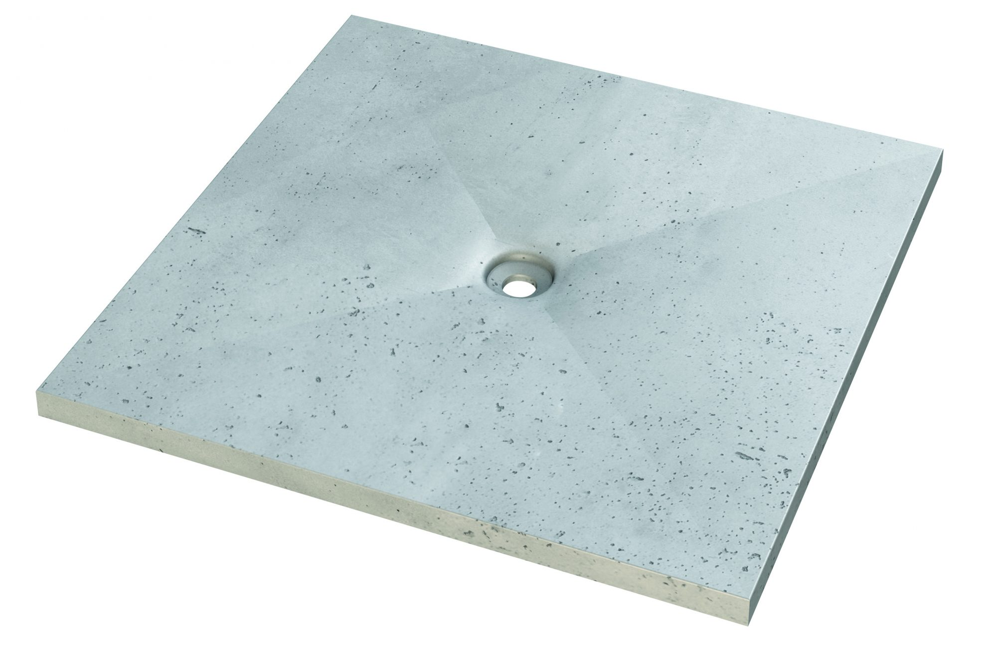 Concrete Shower Tray - Living Concrete