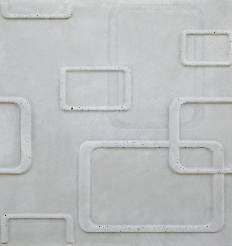 50's Line 3D concrete