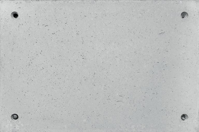 Gap concrete panels