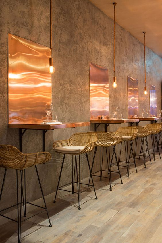 Top 5 Inspirational Concrete Bar & Restaurant Designs - Living Concrete